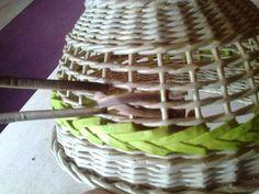 Фото мастер-класс. | Плетение из газет | ВКонтакте Двойная косичка для вазы