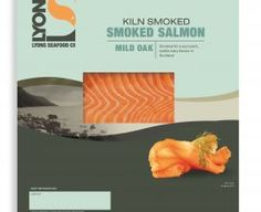Food Packaging Design, Farm Business, Business Ideas, Smoked Salmon, Food Design, Raw Food Recipes, Seafood, Salmon Food, Fish
