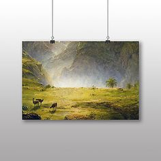 Poster #print frederic edwin #church #landscape no.2,  View more on the LINK: http://www.zeppy.io/product/gb/2/171896912896/