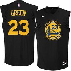 adidas Draymond Green Golden State Warriors Fashion Replica Jersey - Black #warriors #nba #goldenstate