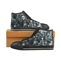 Horror movies shoes - Horror Character High top sneakers, shoes men's, women's and kid's shoes Converse Sneakers, Converse All Star, High Top Sneakers, Vans Shoes Women, Kid Character, Custom Shoes, Top Shoes, Shoe Shop, High Tops