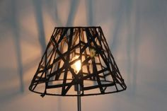 Graphic Lines Inner Tube Lamp Shades Lamps & Lights Recycled Rubber