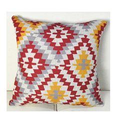 Pillow, Decorative Pillow, Geometric Pillow, Linen Cushions, Geometry Pattern Decorative Pillows,  Throw Pillow, Toss Pillow, Accent Pillow