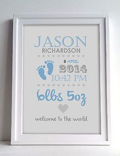 Personalised #christening print, boy and #girl, perfect gift - new baby #present,  View more on the LINK: http://www.zeppy.io/product/gb/2/301655350667/