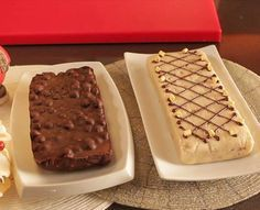 Turrón de chocolate blanco, nata y nueces