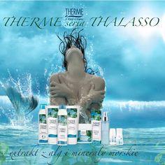 Morze i ocean to luksusowy gabinet kosmetyczny pełen różnorodnych składników, które służą kobiecej urodzie, przywracając jej świeżość i blask.  Algi i minerały mają kluczowe znaczenie w linii Thalasso.  Używając Thalasso czujesz jak w trosce o Twoją młodość do boju ruszają polisacharydy, a to aż 60 proc. substancji czynnych zawartych w algach, w tym ten najistotniejszy w kwas hialuronowy. Dzięki stosowaniu preparatów algowych z dużą zawartością tego kwasu skóra odzyskuje jędrność i elastyczność. Tsunami, World, Movie Posters, Movies, Art, Art Background, Films, Film Poster, Kunst