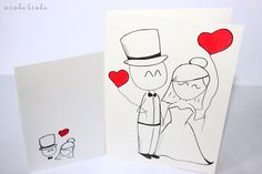 wedding card VII