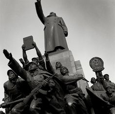 Statues With Chairman Mao, Shenyang, Liaoning Province  From the series The Chinese