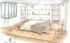 Awesome Chambre En Perspective Cavaliere Pictures - ansomone.us ...