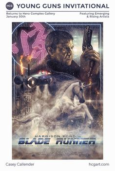 Blade Runner Hero Complex Gallery 2015 Young Guns
