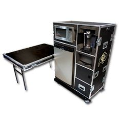 Kitchen in a case