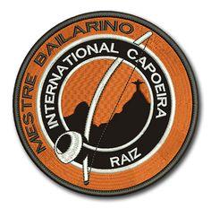 Naszywka Mestre Bailarino International Capoeira Raiz
