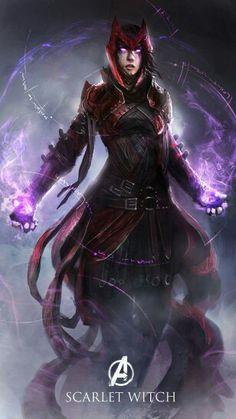 Scarleth Wich Avengers