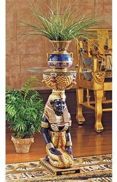 Design Toscano The Egyptian Goddess Eset Pedestal Plant Stand Egyptian Isis, Egyptian Pharaohs, Egyptian Goddess, Egyptian Art, Egyptian Things, Egyptian Jewelry, Egyptian Furniture, Egyptian Home Decor, Egyptian Decorations