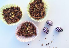 Healthier Easter Treats - Chocolate 'crackles' - North of Here