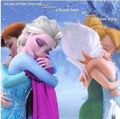 An act of true love can thaw a frozen heart or heal a broken wing....