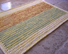 crochet rug- free pattern