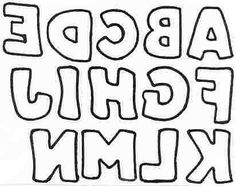 Free applique patterns including upper lower case alphabets free printable block letters and titles pronofoot35fo Choice Image
