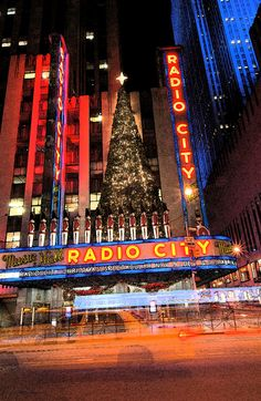 Christmas in NYC. I would love to take my Mom into the city - spend the night - have a nice dinner and see a show