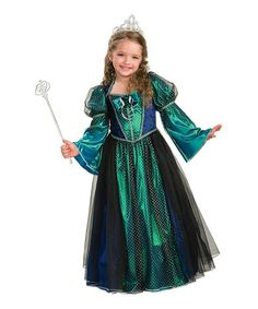 Loving this Green Twilight Princess Dress - Girls on #zulily! #zulilyfinds