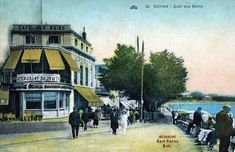 France, Painting, Antique Post Cards, Antique Pictures, Seaside Towns, Posters, Places, Travel, Painting Art