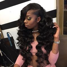 Brazilian Remy Human Hair Weave Loose Wave Unprocessed Virgin Hair 3 or 4 Bundles for African American Online Shop Brazilian Virgin Hair Bundles Loose Wave Remy Human Hair Off Now, DHL Worldwide Shipping,Store Coupons Available. Remy Human Hair, Human Hair Extensions, Human Hair Wigs, Remy Hair, Weave Extensions, Extensions Shop, Black Hair Extensions, Dreadlock Extensions, Weave Hairstyles