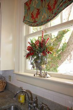 Simple Pleasures: Mary Carol Garrity's Christmas Open House 2013 Part 3, the Dining Room and Kitchen