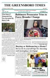 Greensboro Times May 2015 Edition