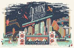 Austin City Limits Poster-Anderson Design Group