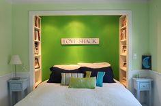 A Closet Transformed Into A Book Nook…I love this!