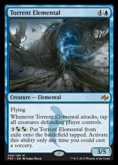 Torrent Elemental | FATE REFORGED Visual Spoiler