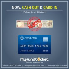Now you too can go #cashless Apply: https://www.myfundbucket.com/creditcard Toll free - 1800 1200 288 #creditcard #nofee #offers #benefits
