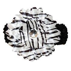 Zebra Gerbera Flower Headband Gerbera Flower, Flowers, Baby Girl Hair Accessories, Girl Hairstyles, Florals, Flower, Little Girl Hairstyles, Bloemen