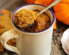 Pumpkin Spice Mug Cake cup + 1 tbsp pumpkin puree cup egg whites scoop vanilla protein powder tbsp pumpkin spice tbsp cinnamon, ground 2 tbsp almond meal (or coconut flour) 1 tbsp flaxseeds, ground tsp baking powder tsp Stevia microwave up to 3 minutes Paleo Treats, Healthy Dessert Recipes, Paleo Recipes, Paleo Dessert, Clean Recipes, Pumpkin Recipes, Breakfast Recipes, Snack Recipes, Stevia