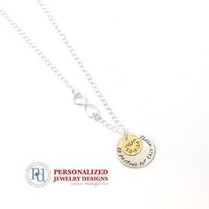 Memorial necklace for baby and mama! A beautiful way to remember by Pixie Dots. www.pixiedots.com
