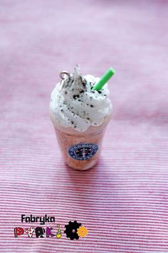 For all you coffee lovers out there. A Starbucks' charm!