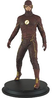 Icon Heroes The Flash Season 2 Suit Paperweight Statue f14f4b9f2e63