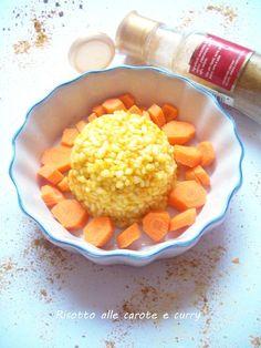 Risotto alle carote e curry