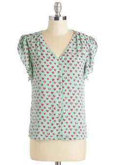 Love Wins, Love Always Winsome Top, @ModCloth