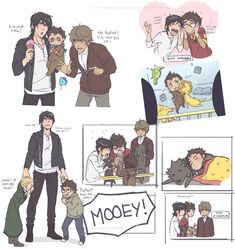 Wolfstar — chiihun: i thirst for raising/babysitting! Draco Harry Potter, Harry Potter Comics, Harry Potter Anime, Harry Potter Ships, Harry Potter Characters, Harry Potter Universal, Harry Potter Memes, Harry Potter World, Harry Harry
