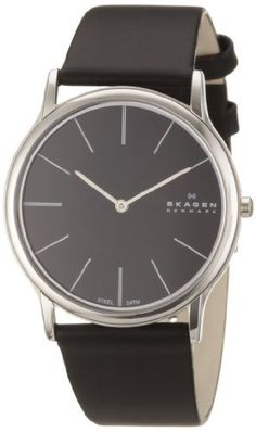 Skagen Mens Ultra Slim Watch 858XLSLB With Leather Strap by Skagen, http://www.amazon.co.uk/dp/B003ZUHI2K/ref=cm_sw_r_pi_dp_dx6Yqb0HW267R