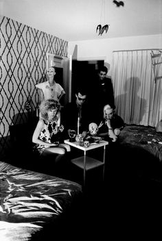 The Cramps at The Tropicana Hotel, photo by Theresa K June 1978 Tropicana Hotel, Keep Rocking, Chelsea Girls, The Cramps, Power Pop, Joy Division, Best Rock, Old Soul, Psychobilly