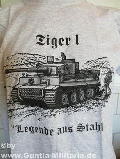 Tiger Panzer T-Shirt - Legende aus Stahl