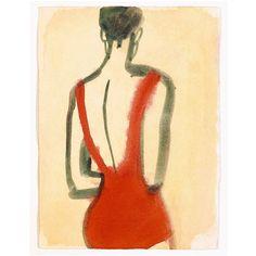 #Inspiration via @therow - #EMOI #orangecolor #swimsuit #fromtheback #art #poolside #swimsuit #eresparis #eresinspired #summer2016 #swimwear - Mats Gustafson, 1989
