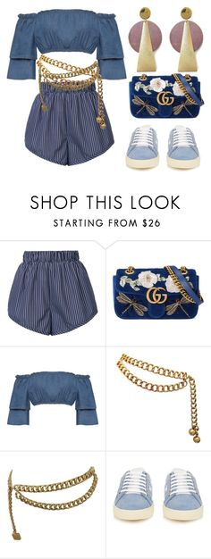 """""""Decade"""" by didiiidia on Polyvore featuring STELLA McCARTNEY, Gucci, WearAll, Chanel, Yves Saint Laurent and History + Industry"""