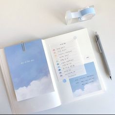 Light Blue Aesthetic, Blue Aesthetic Pastel, Aesthetic Colors, Aesthetic Pictures, Bullet Journal Ideas Pages, Bullet Journal Inspiration, Book Journal, Everything Is Blue, Alice Blue