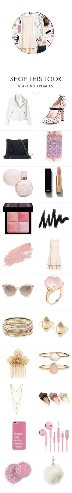"""Untitled #312"" by kate-reads on Polyvore featuring RED Valentino, SONOMA Goods for Life, Chanel, Givenchy, Jane Iredale, Oscar de la Renta, Goshwara, Kendra Scott, Valentino and Miriam Haskell"