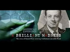 A Brilliant Madness : The story of Nobel Prize wining mathematician John Nash Therapy For Schizophrenia, Ted Talks Video, Einstein, John Nash, Scottish Music, Richard Feynman, Virtual Field Trips, Primary Resources, Movies To Watch Free