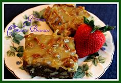 Sweet Tea and Cornbread: German Chocolate Brownies!