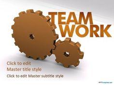 Free Teamwork PPT Template
